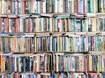 Półki z książkami