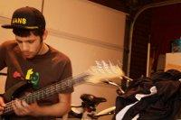 Gitarzysta podczas gry